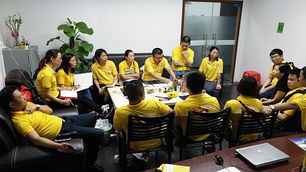 索拉润滑油所在团队开常委会